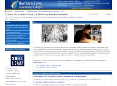 Homepage of the Cuando No Puedes Visitar La Biblioteca Presencialmente Research Guide